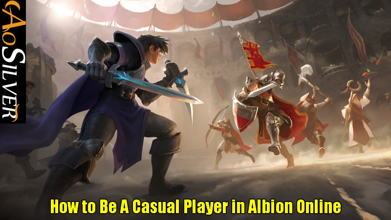 How to Be A Casual Player in Albion Online