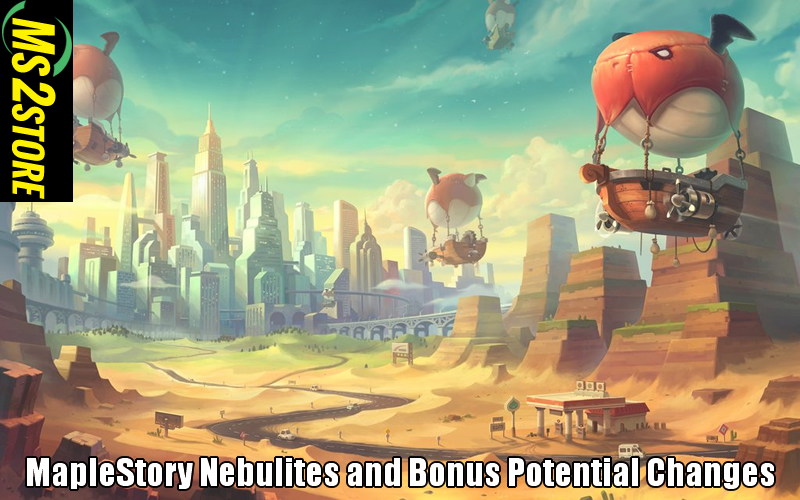 MapleStory Nebulites and Bonus Potential Changes