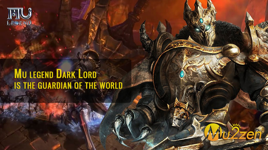 Mu legend Dark Lord is the guardian of the world