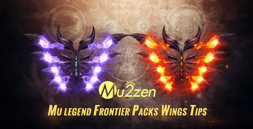Mu legend Frontier Packs Wings Tips