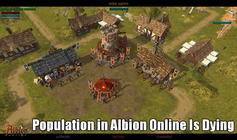 Population in Albion Online Is Dying