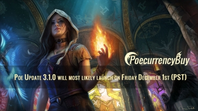 Poe Update 3.1.0 will most likely launch on Friday December 1st (PST)