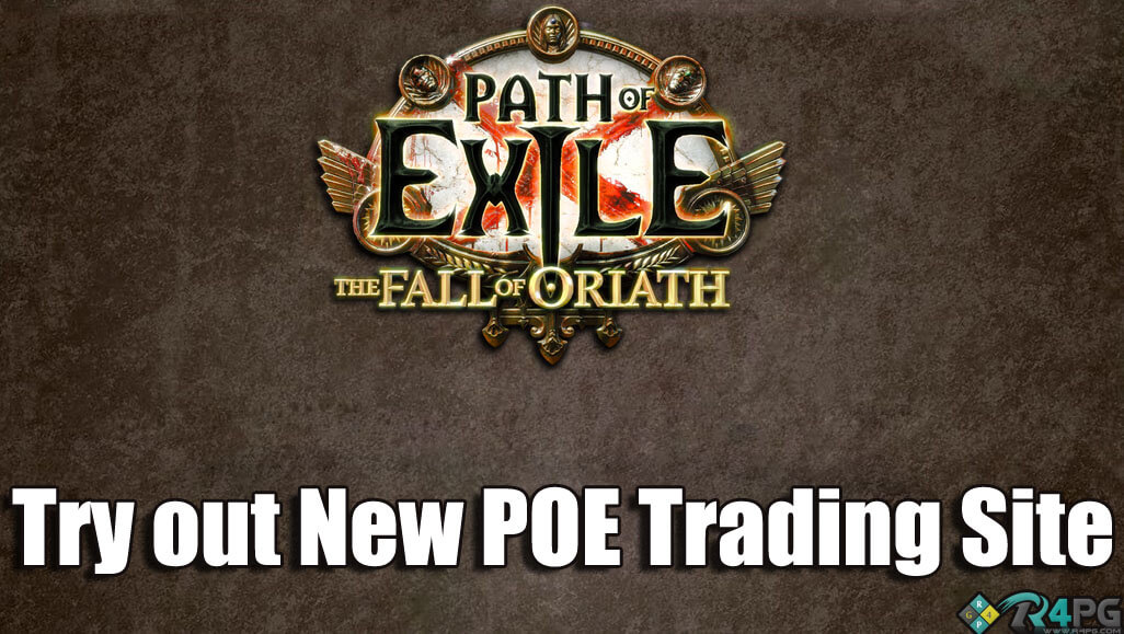 GGG Introduce New Path Of Exile Trading Site