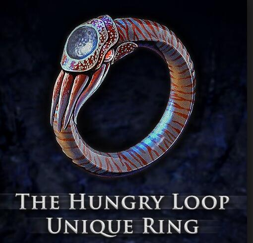 The Eat gem Hungry Loop Ring Will probably be add in path of exile 3.1.0