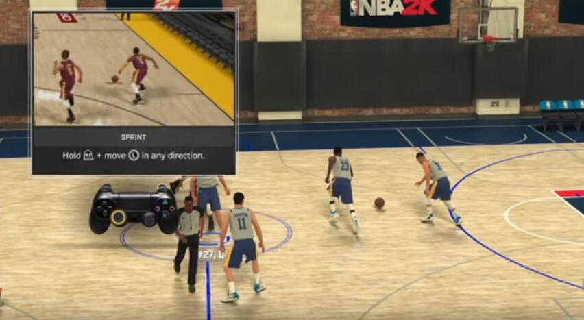 NBA 2K18 Offensive Controls guide Basic Offense