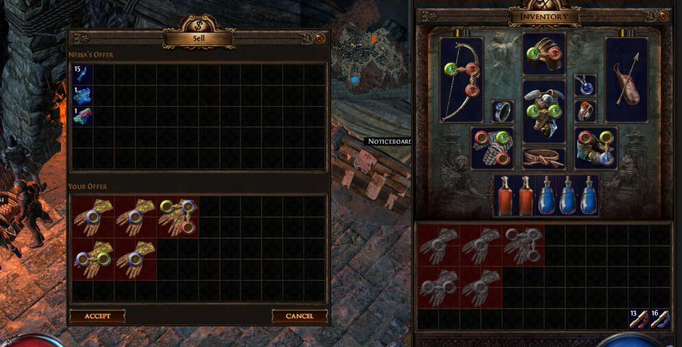 Path of exile Trading System Discussing