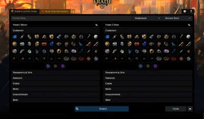 Path of exile launched new trade system and published Path of exile Trade Manifesto