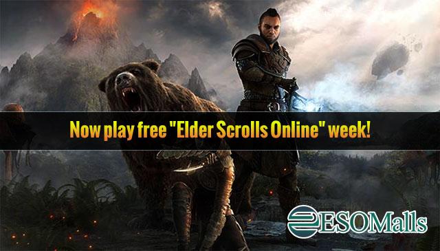 """Now play free """"Elder Scrolls Online"""" week!"""