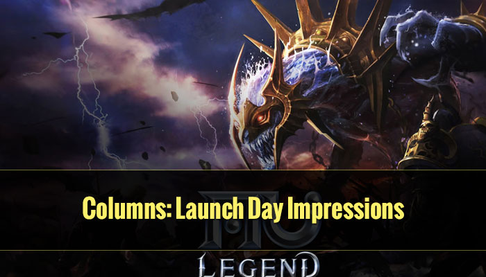 Columns: Launch Day Impressions