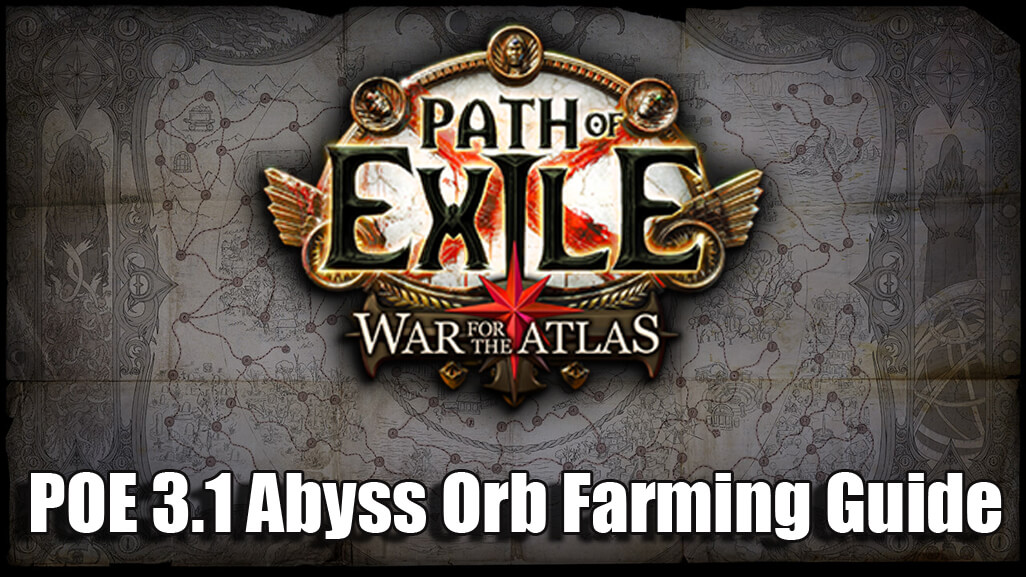 Path of Exile 3.1 Orb Farming Guidance and Advice - Abyss League