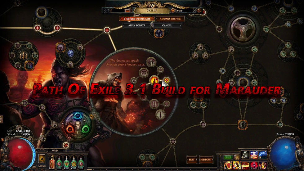 Path Of Exile 3.1 Build for Marauder