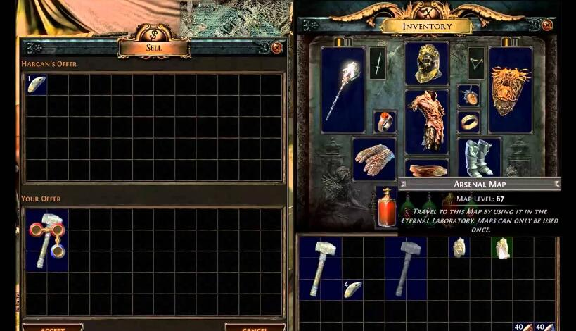 Path of exile Cartographer
