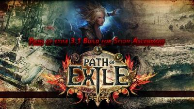Path of exile 3.1 Build for Scion Ascendant