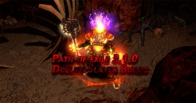Path of exile 3.1.0 Duelist Slayer Builds