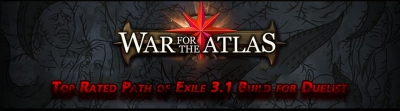 Top Rated Path of Exile 3.1 Build for Duelist