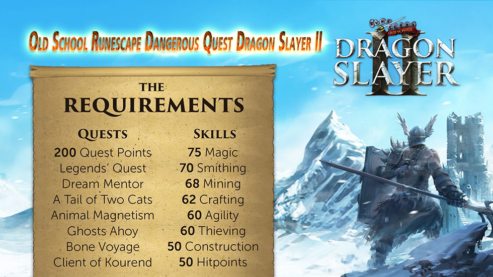 Old School Runescape Dangerous Quest Dragon Slayer II