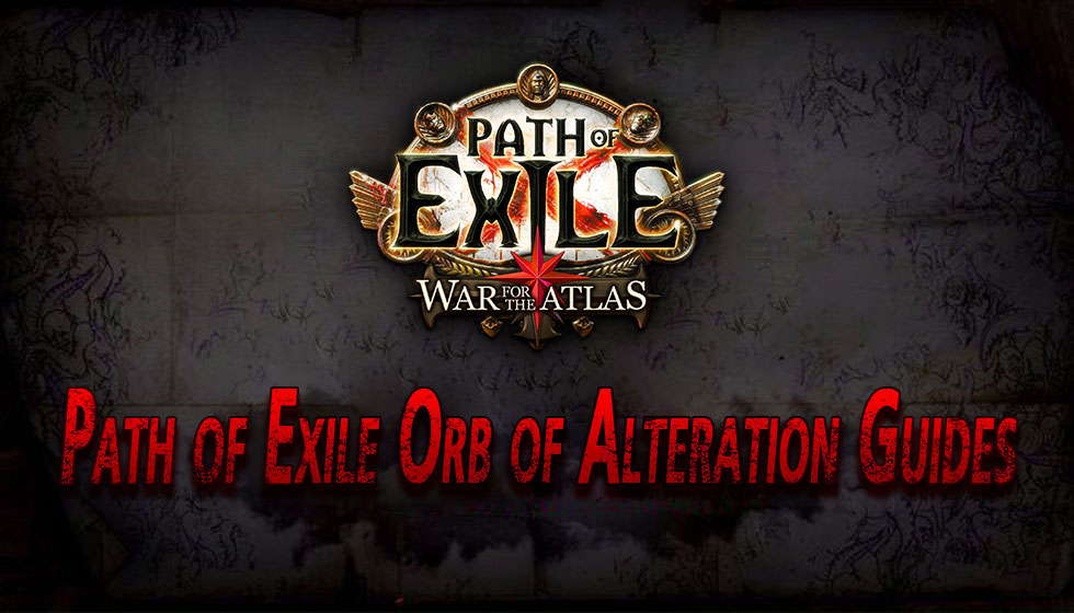 Path of Exile Orb of Alteration Guides