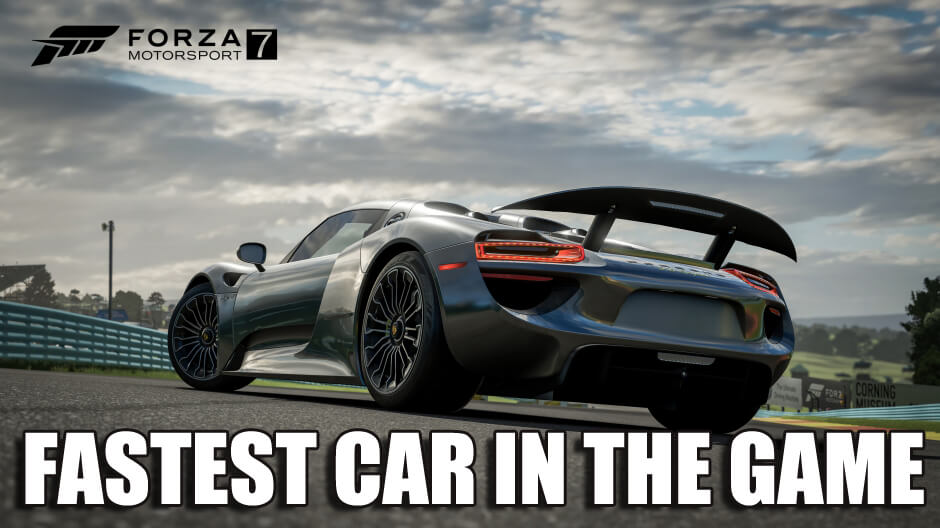 What Is The Best Car For A Beginner In Forza Motorsport 7?