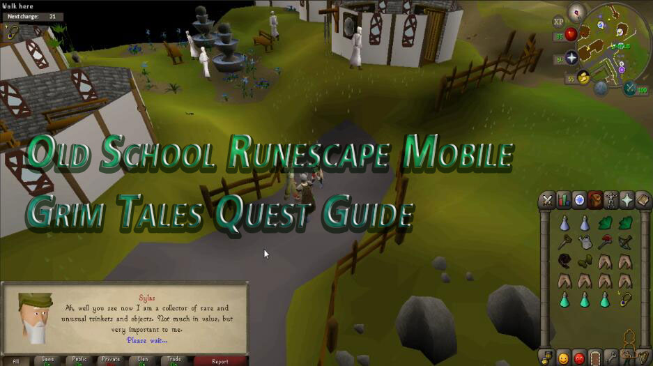Old School Runescape Mobile Grim Tales Quest Guide