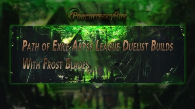 Path of Exile Abyss League Duelist Builds With Frost Blades