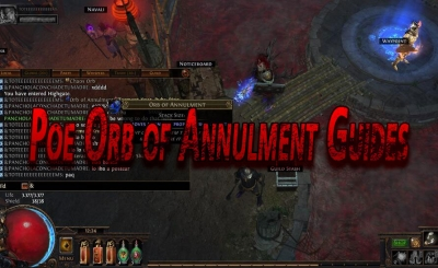 Poe Orb of Annulment Guides