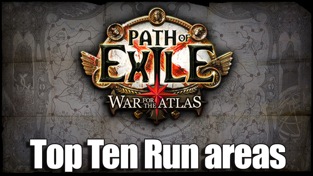 Top Ten Run areas in Path of Exile Abyss League