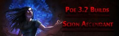 Poe 3.2 Scion Ascendant Builds