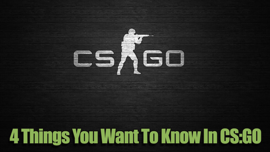 4 Things You Want To Know In CS:GO