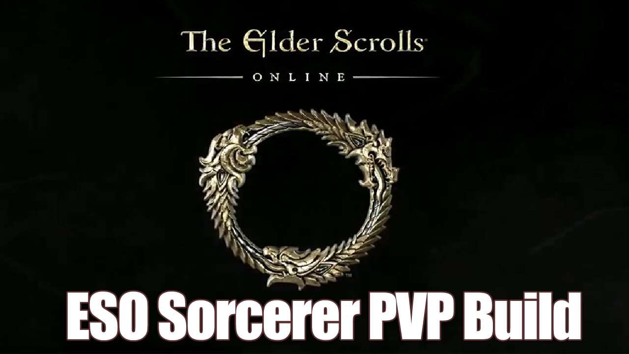 Elder Scrolls Online Sorcerer PVP Build