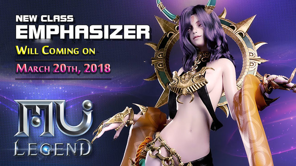 Mu Legend Spellbinder Will Coming on March 20th, 2018