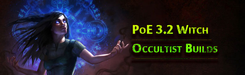 PoE 3.2 Witch Occultist Builds