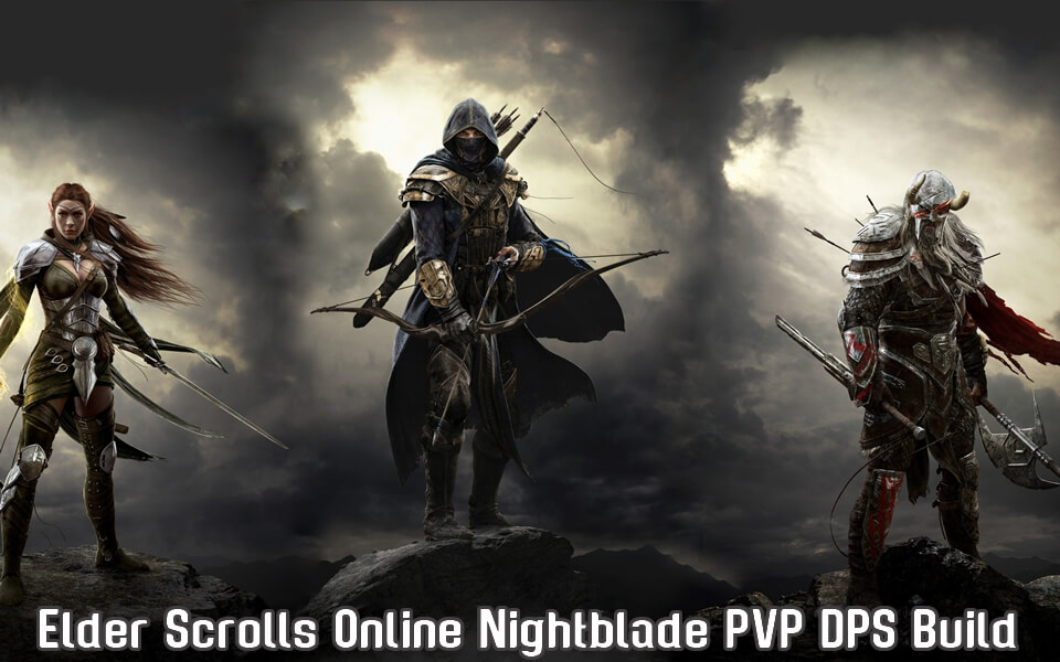 Elder Scrolls Online Nightblade PVP DPS Build