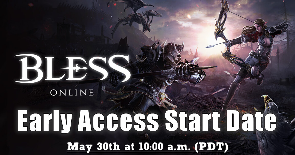 Bless Online Early Access Date & More