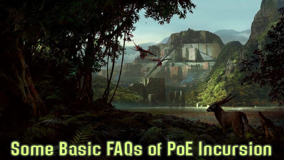 Some Basic FAQs of PoE Incursion