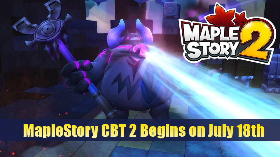 MapleStory CBT 2 Begins on July 18th