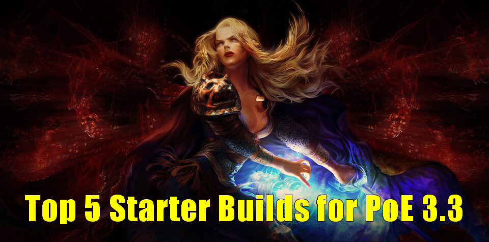 Top 5 Starter Builds for PoE 3.3 Incursion