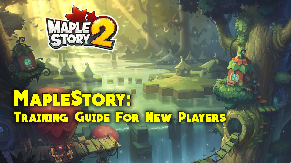 Full MapleStory Training Guide For New Players