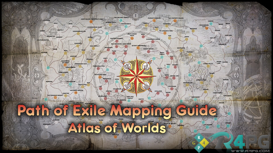 Path of Exile Atlas of Worlds Mapping Guide