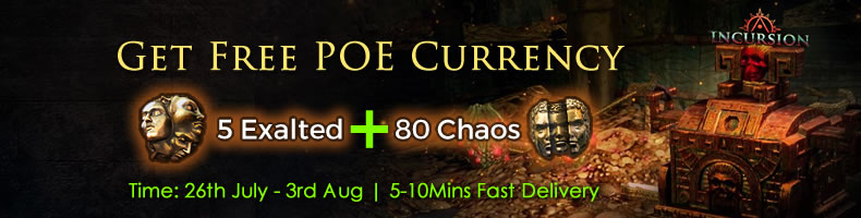 Best Chance to Get 80 Chaos Orb and 5 Exalted Orb Freely