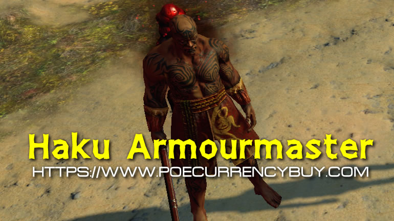 Path of Exile Haku Armourmaster Guides