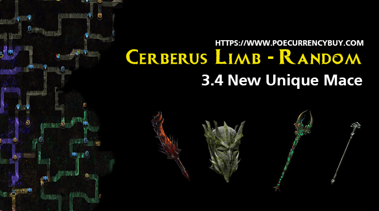 Cerberus Limb - Random 3.4 New Unique Mace