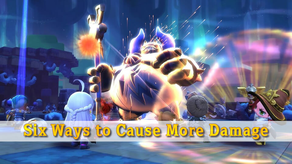 Six Ways to Cause More Damage in MapleStory 2