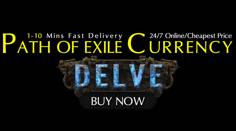 POE Currency - Buy Cheap 3.4 Delve Currency and Tabula Rasa in POE Shop