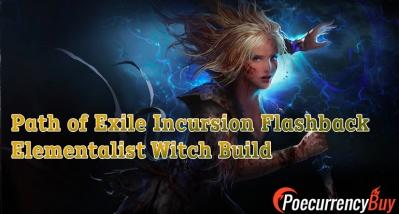 POE Elementalist Witch Build for Incursion Flashback