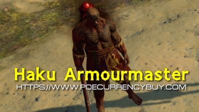 Path of Exile Haku Armourmaster Guides