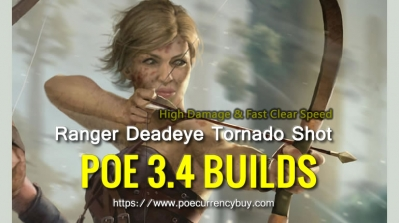 POE 3.4 Ranger Deadeye Tornado Shot Build - High Damage & Fast Clear Speed