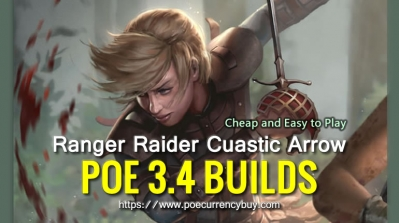 POE 3.4 Ranger Raider Cuastic Arrow Build - Cheap and Easy to Play