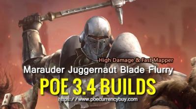 Poe Blade Flurry Build Marauder