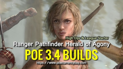 POE 3.4 Ranger Pathfinder Herald of Agony Build - High Dps & League Starter