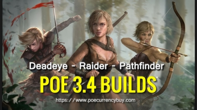 POE 3.4 Ranger Build - Deadeye | Raider | Pathfinder